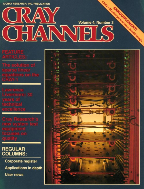 Scan of Document: Cray Channels - Vol 4 No 3