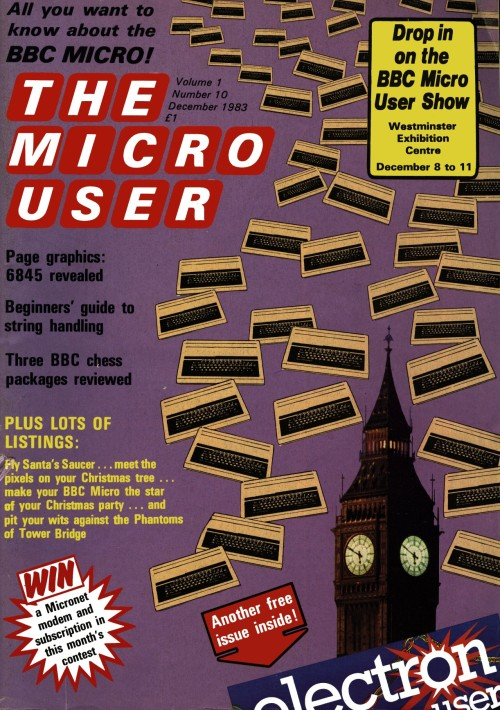 Scan of Document: The Micro User - December 1983 - Vol 1 No 10