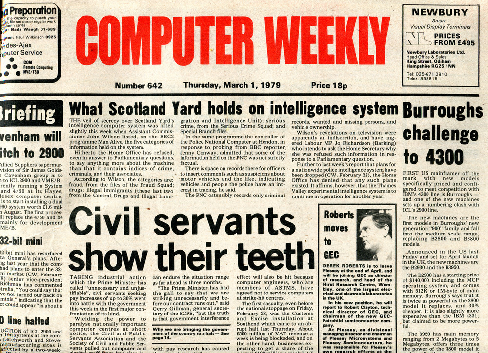 Scan of Document: Computer Weekly 642