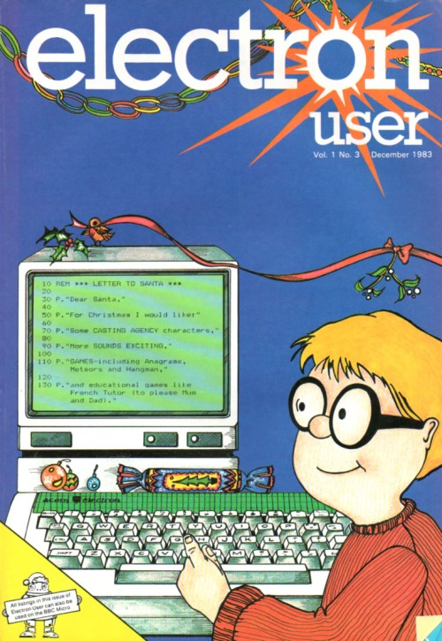 Scan of Document: Electron User - December 1983 - Vol 1 No 3