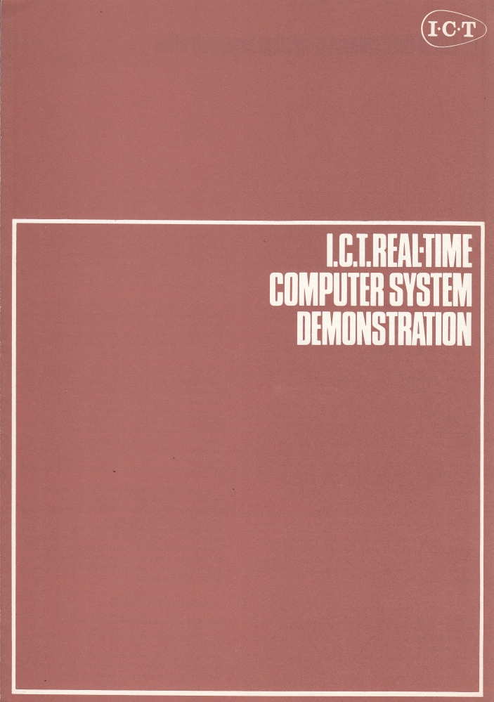 Scan of Document: I.C.T Real-Time Computer System Demonstration