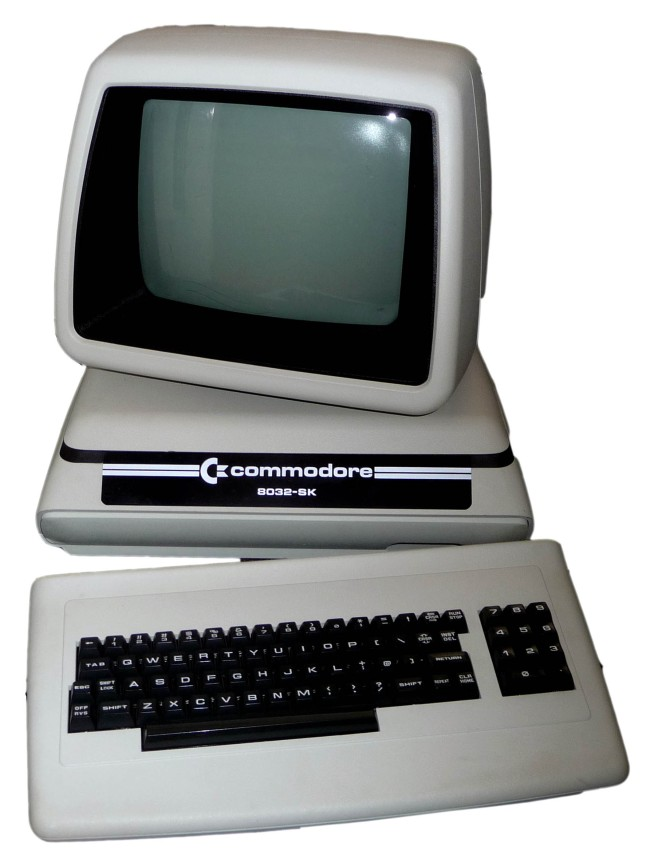 Commodore PET 8032SK - Computing History