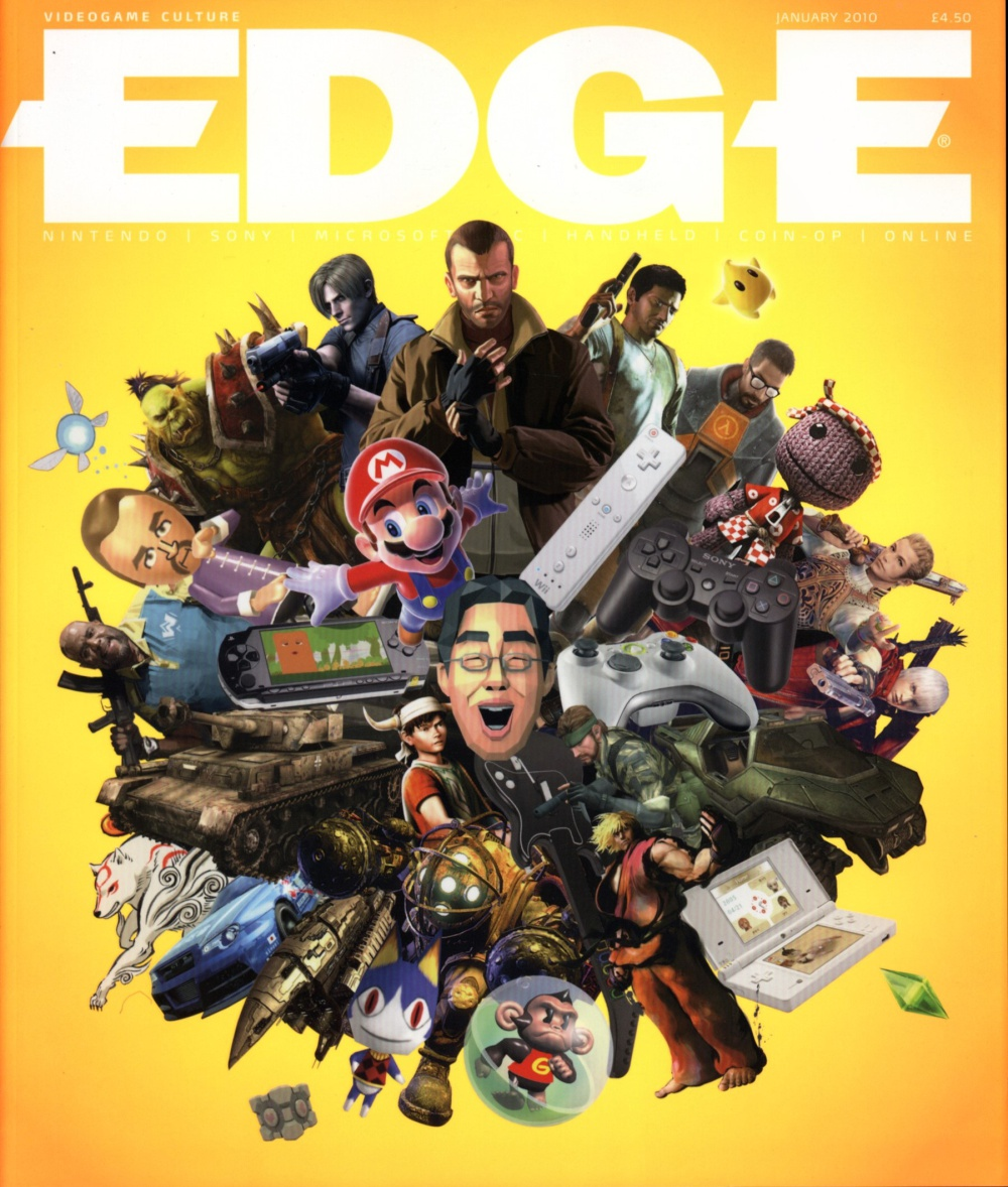 Scan of Document: Edge - Issue 210 - January 2010