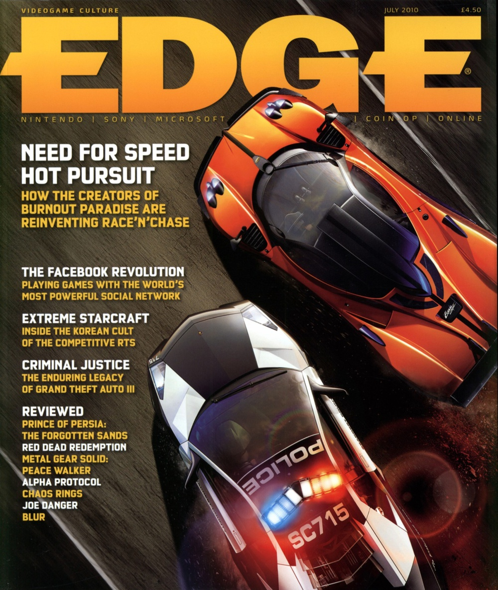 Scan of Document: Edge - Issue 216 - July 2010