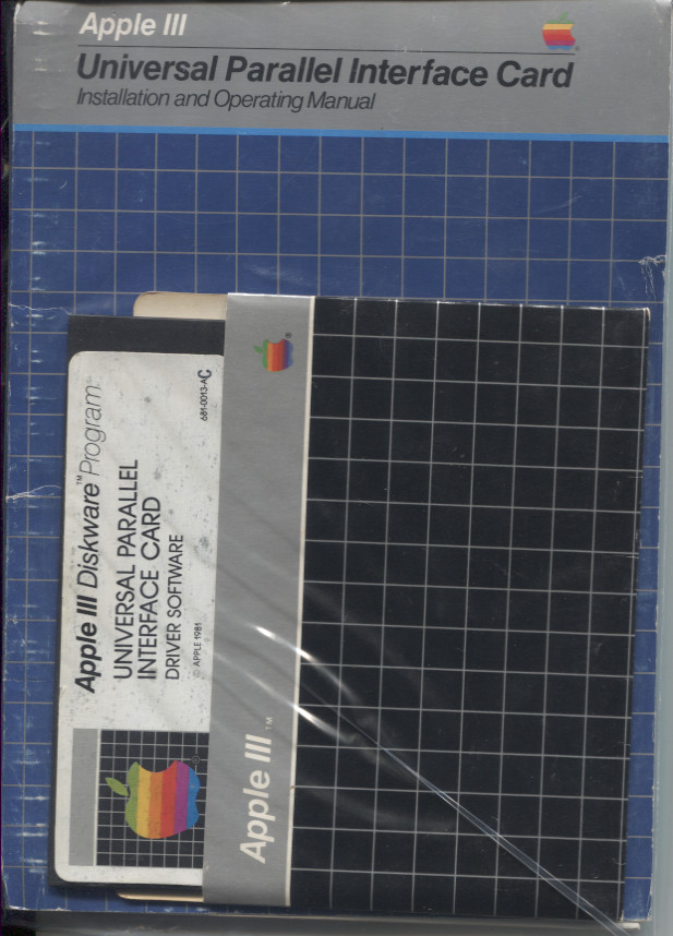 Scan of Document: Universal Parallel Interface Card