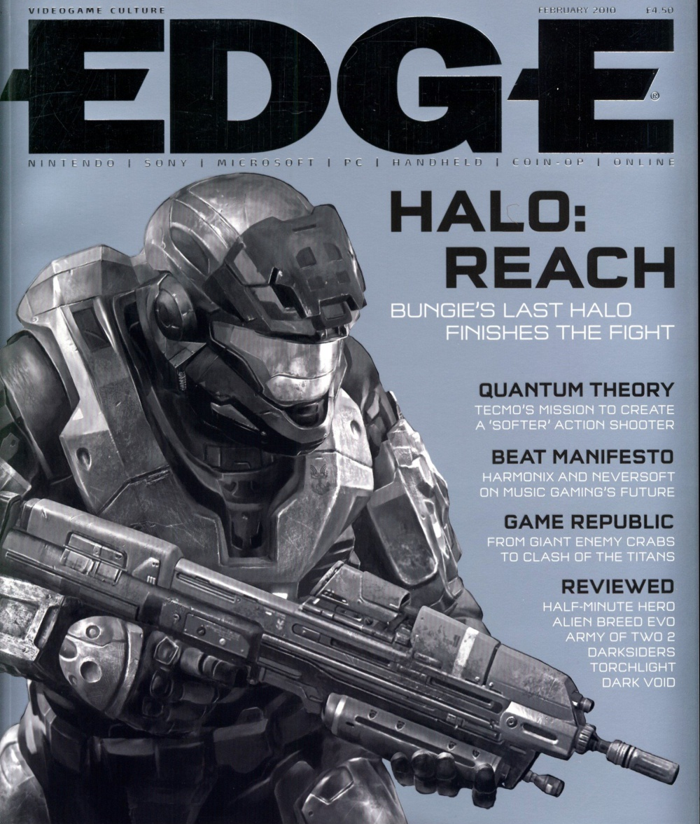 Scan of Document: Edge - Issue 211 - February 2010