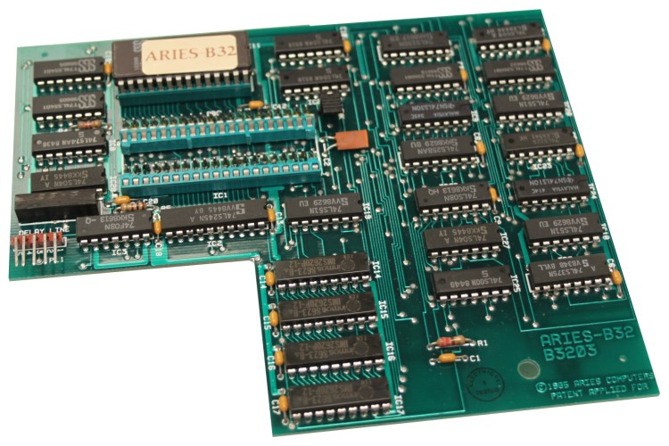 Scan of Document: Aries B32 RAM Board