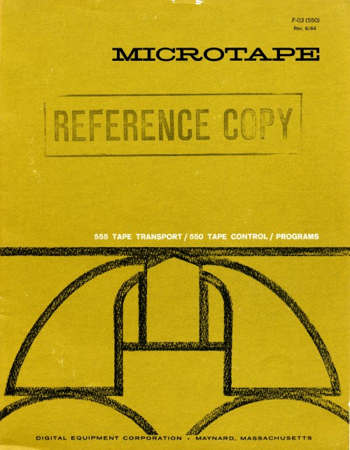 Scan of Document: Digital Equipment Corporation Microtape Brochure