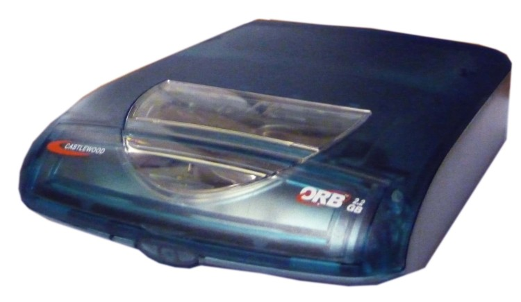 Scan of Document: Castlewood Orb 2.2GB External Hard Disc Drive