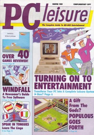 Scan of Document: PC Leisure - Winter 1989