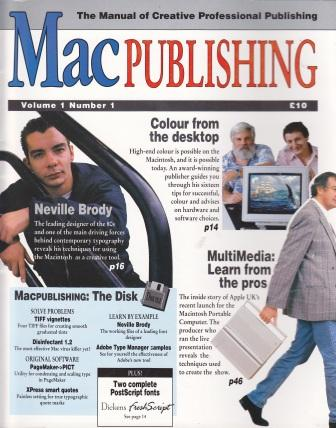 Scan of Document: Mac Publishing - Volume 1 Number1