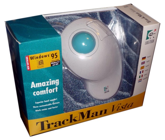 Scan of Document: Logitech TrackMan Vista