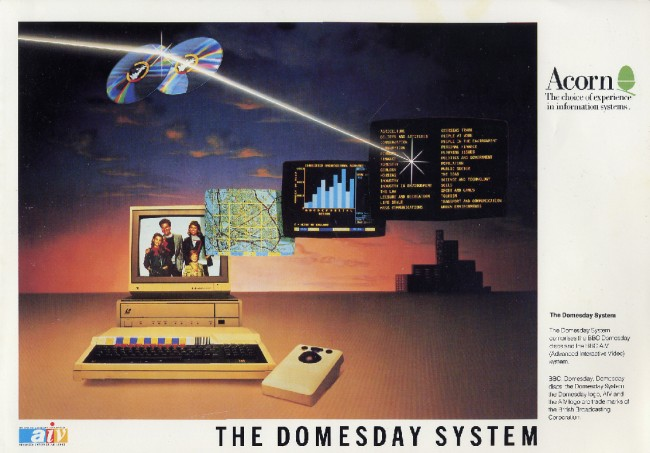 Scan of Document: The Domesday System - Brochure