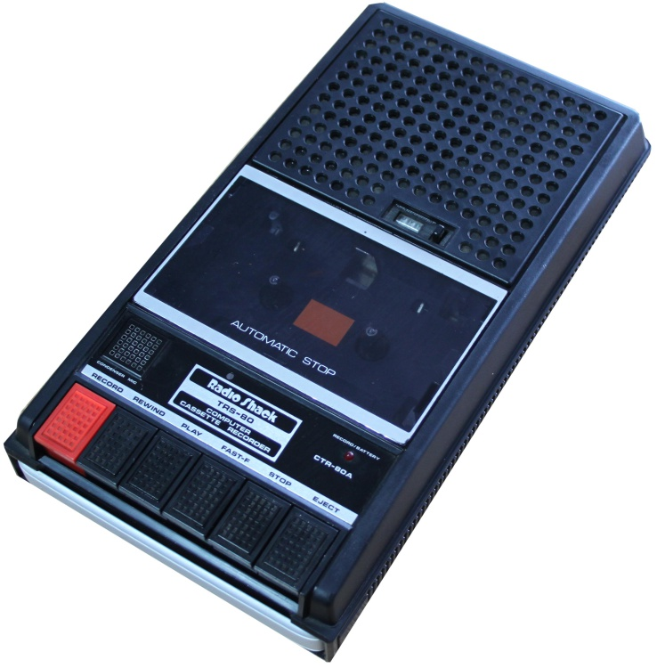 Scan of Document: CTR-80A TRS-80 Computer Cassette Recorder