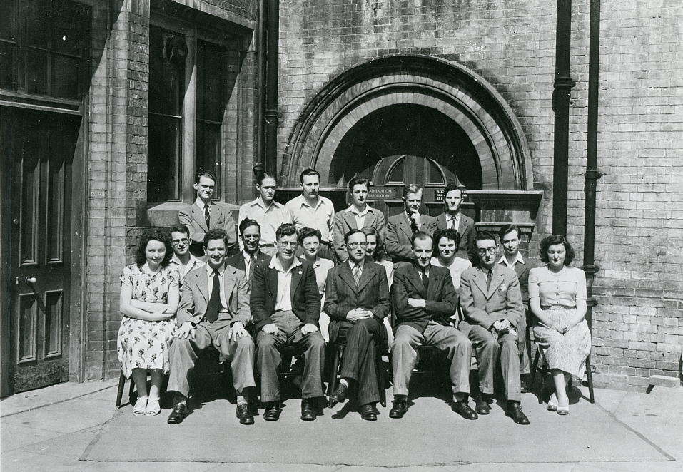 Photograph of 51860 Outside the Mathematical Lab