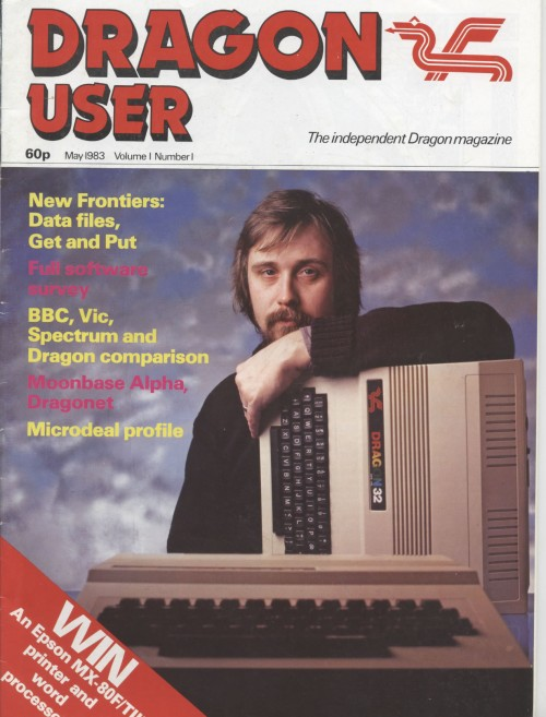 Scan of Document: Dragon User - May 1983