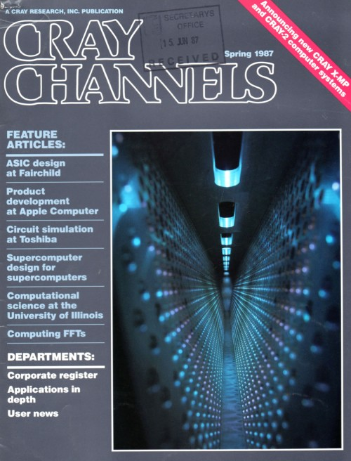 Scan of Document: Cray Channels - Vol 9 No 1 - Spring 1987