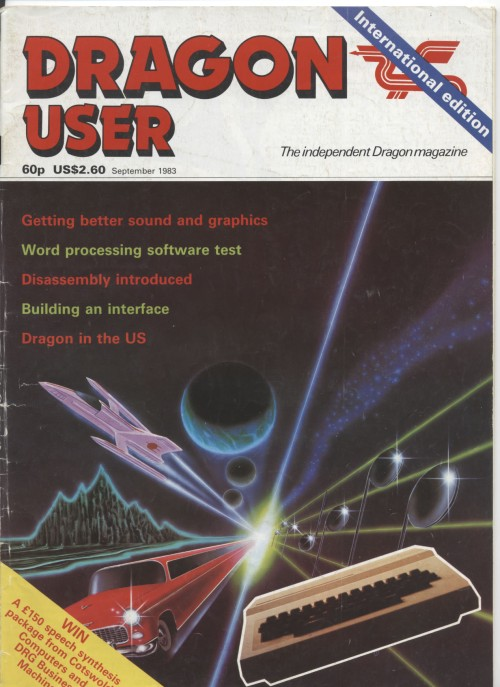Scan of Document: Dragon User - September 1983