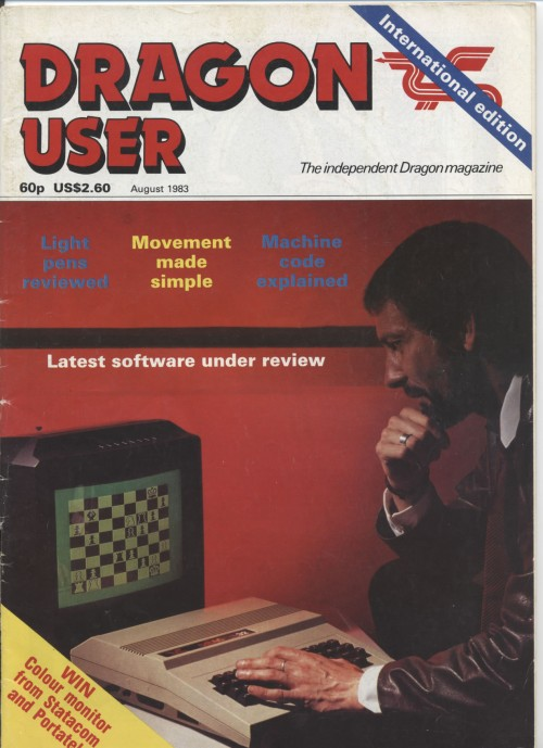 Scan of Document: Dragon User - August 1983