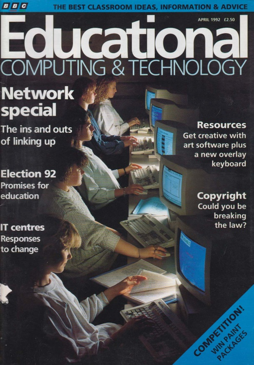 Scan of Document: Educational Computing and Technology - April 1992