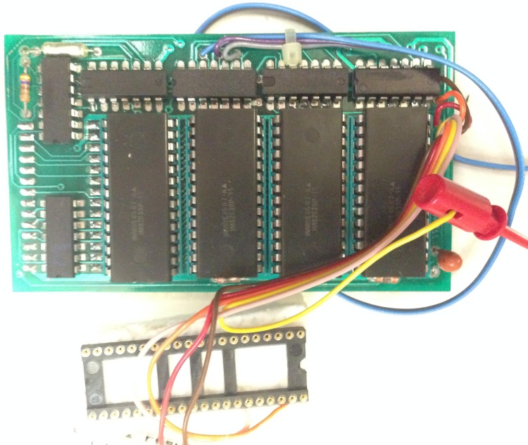 Scan of Document: HCR Sideways RAM Board