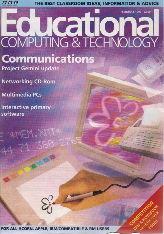 Scan of Document: Educational Computing and Technology - February 1993