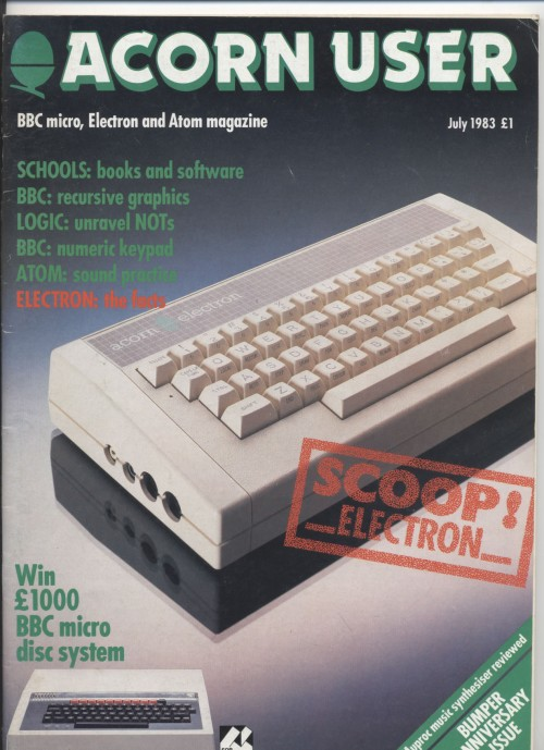 Scan of Document: Acorn User - July 1983