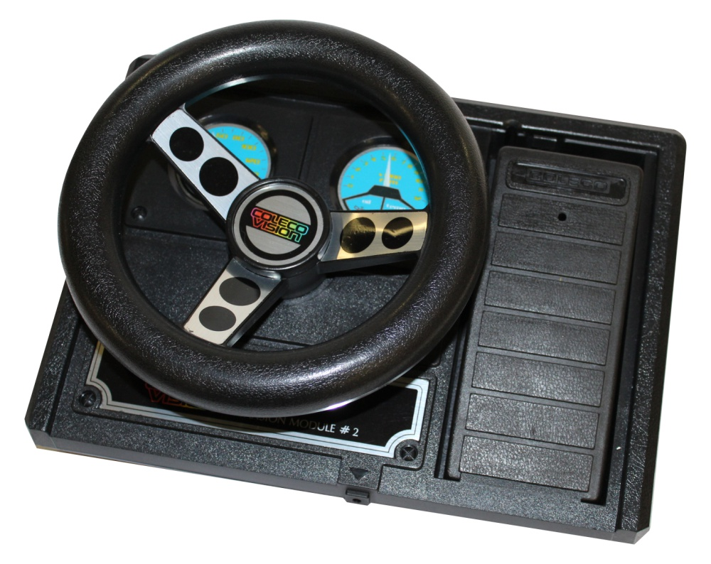 Scan of Document: ColecoVision Expansion Module No 2 - Steering Wheel