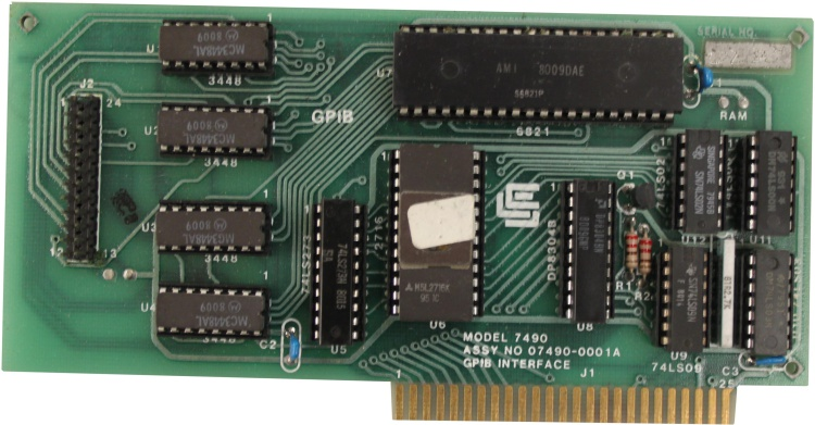 Scan of Document: Model 7490A GPIB Interface