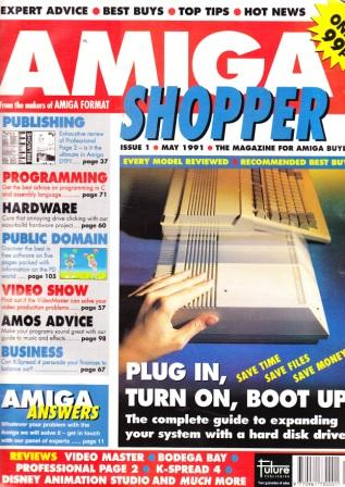 Scan of Document: Amiga Shopper - May 1991