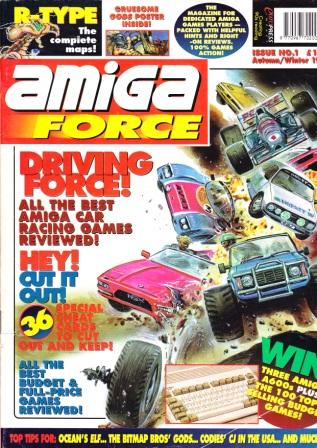 Scan of Document: Amiga Force - Autumn/Winter 1992