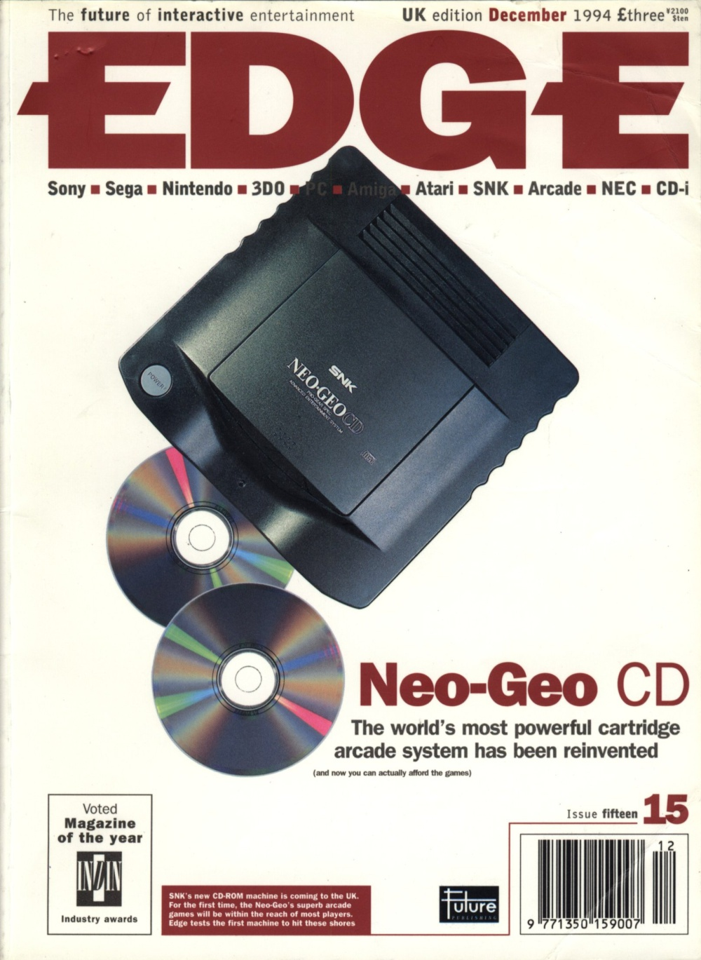 Scan of Document: Edge - Issue 15 - December 1994