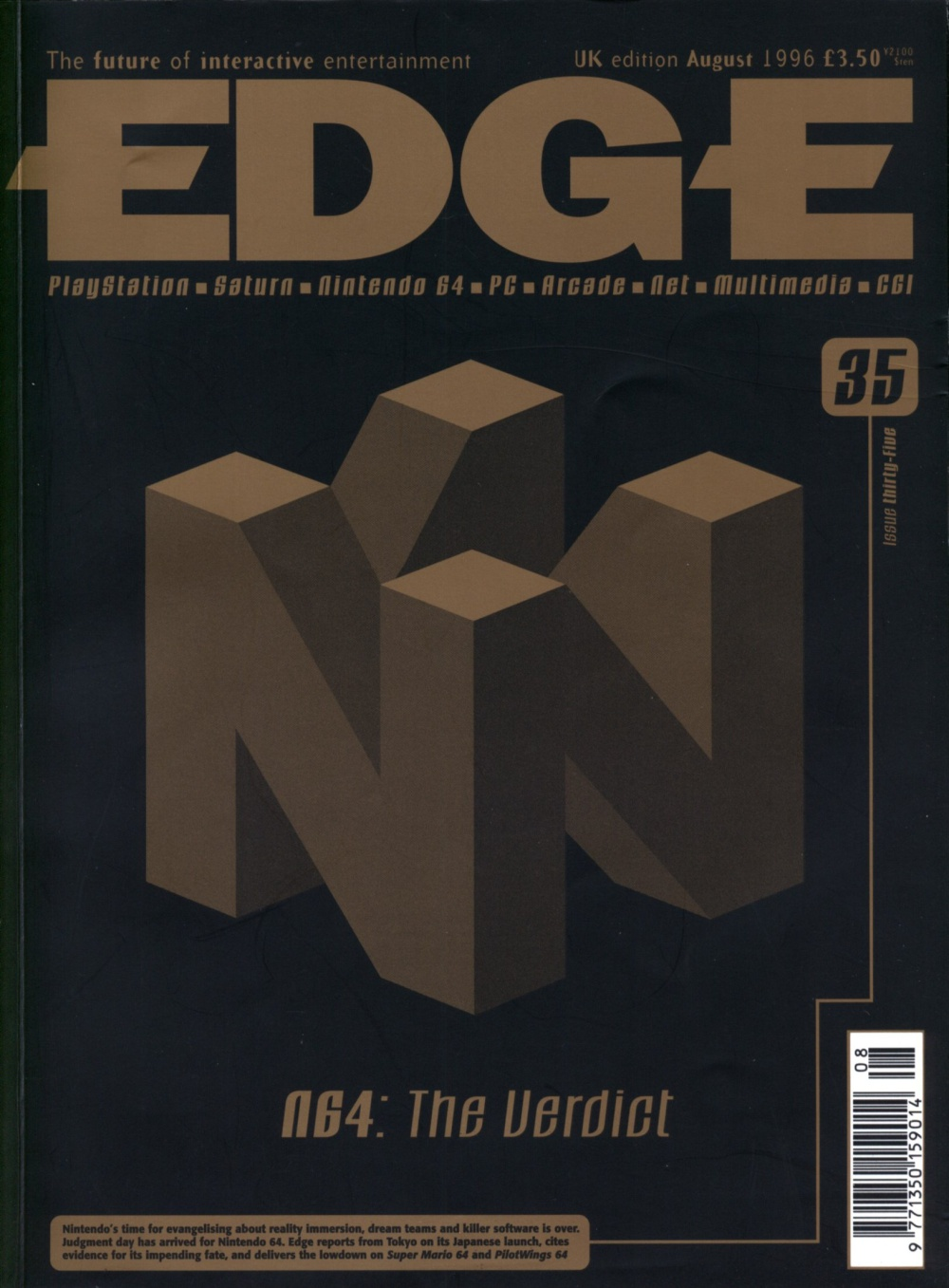 Scan of Document: Edge - Issue 35 - August 1996