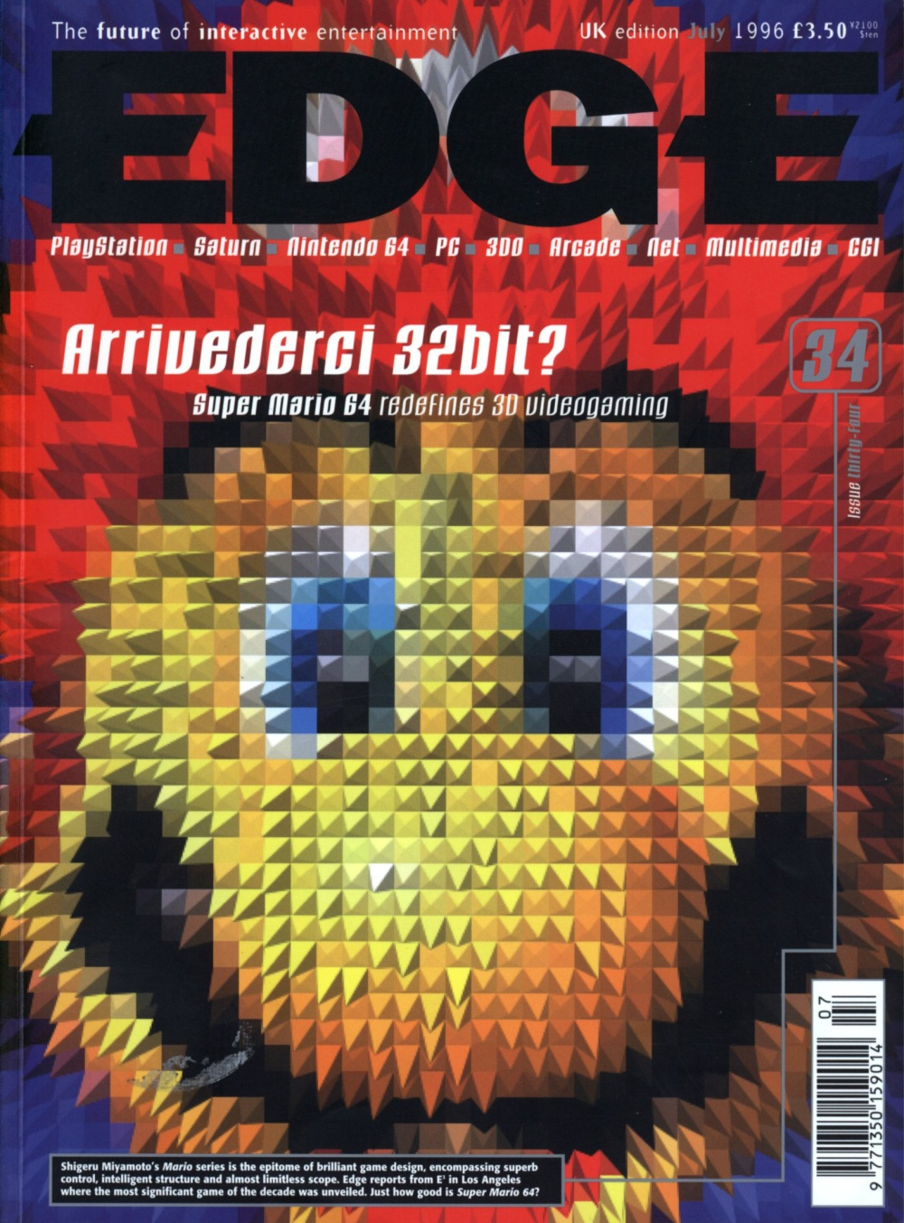 Scan of Document: Edge - Issue 34 - July 1996