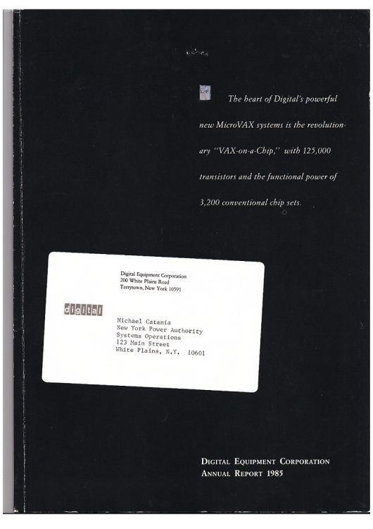 Digital Equipment Corporation - Annual Report 1985
