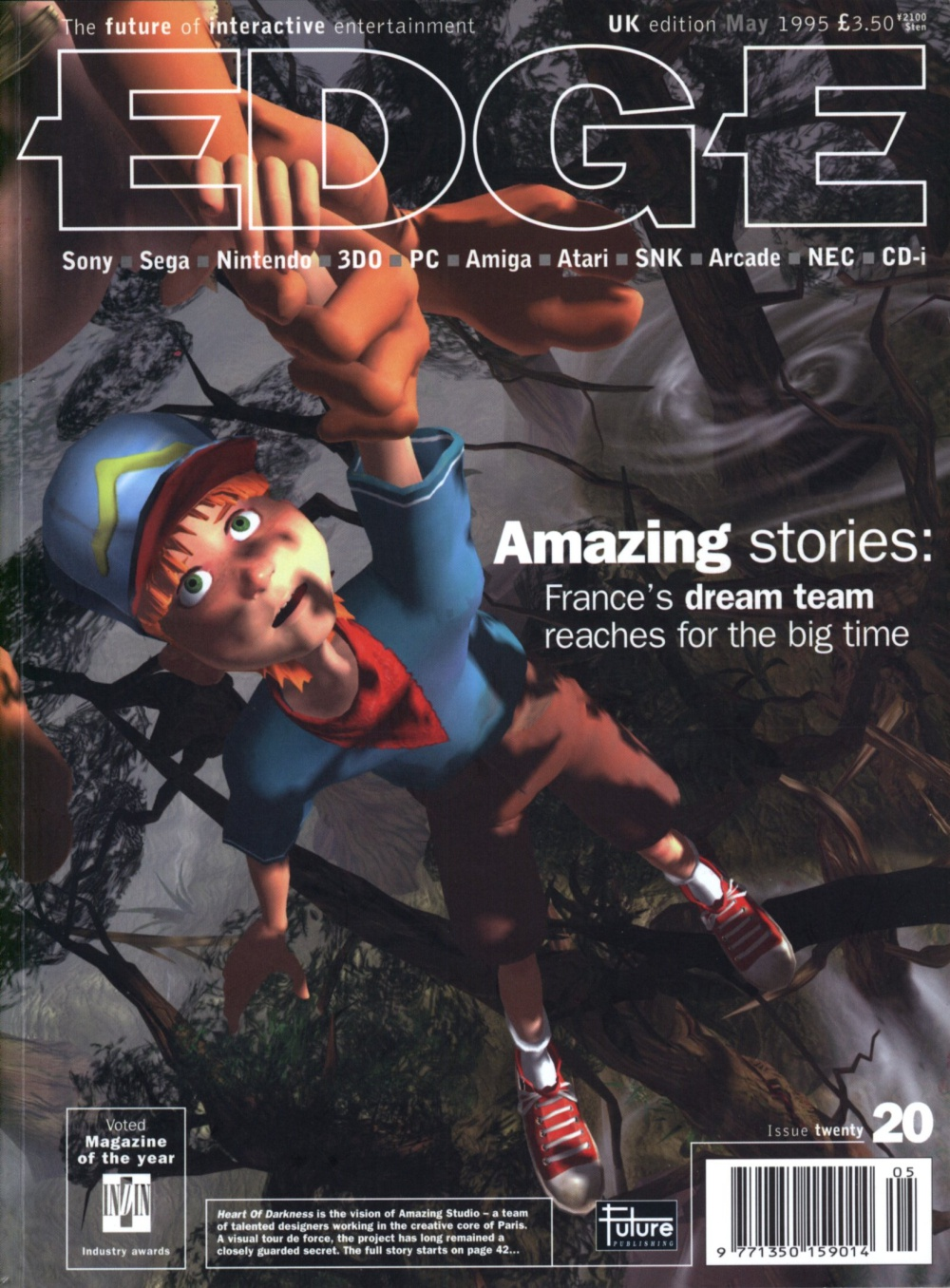Scan of Document: Edge - Issue 20 - May 1995