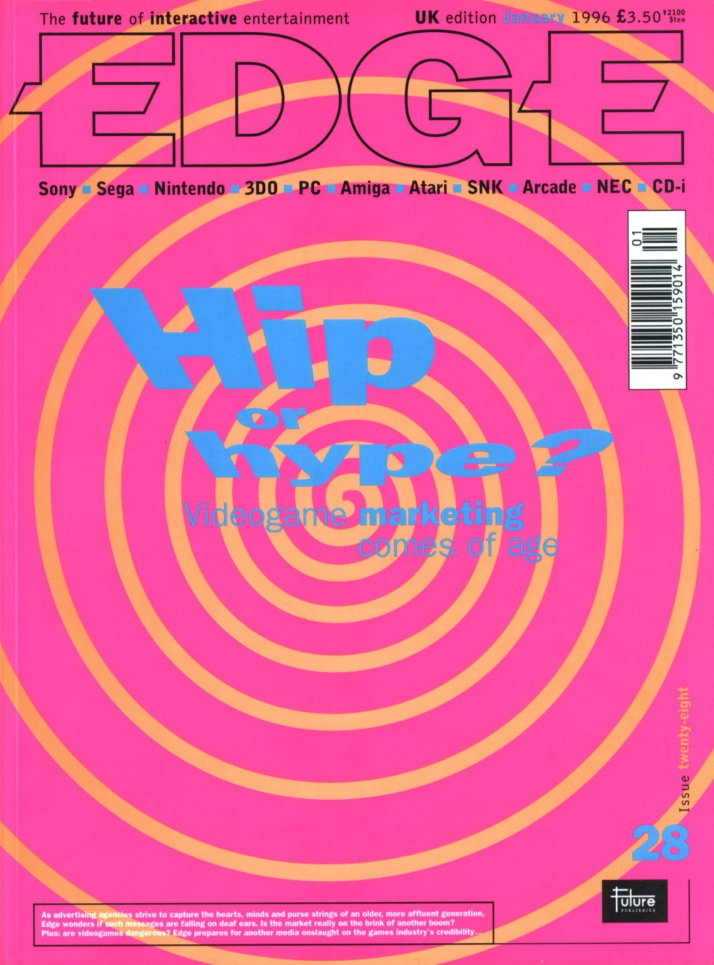 Scan of Document: Edge - Issue 28 - January 1996