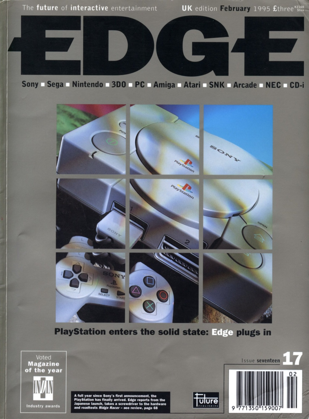Scan of Document: Edge - Issue 17 - February 1995