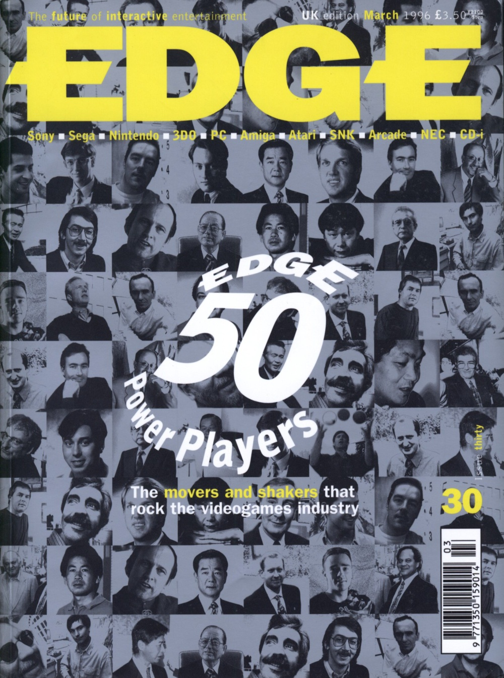 Scan of Document: Edge - Issue 30 - March 1996