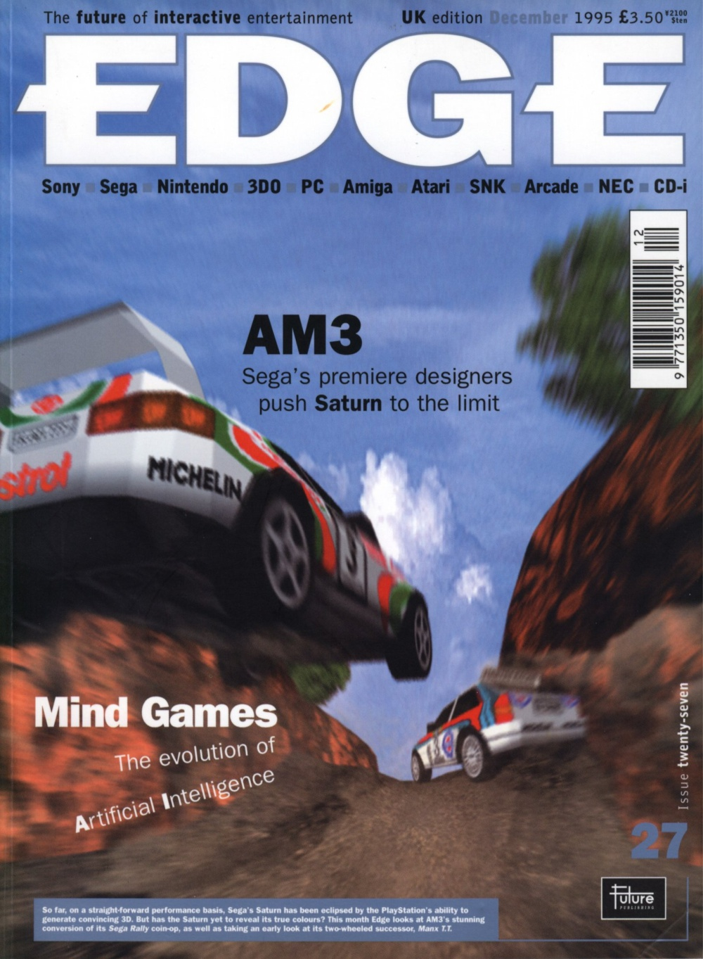 Scan of Document: Edge - Issue 27 - December 1995