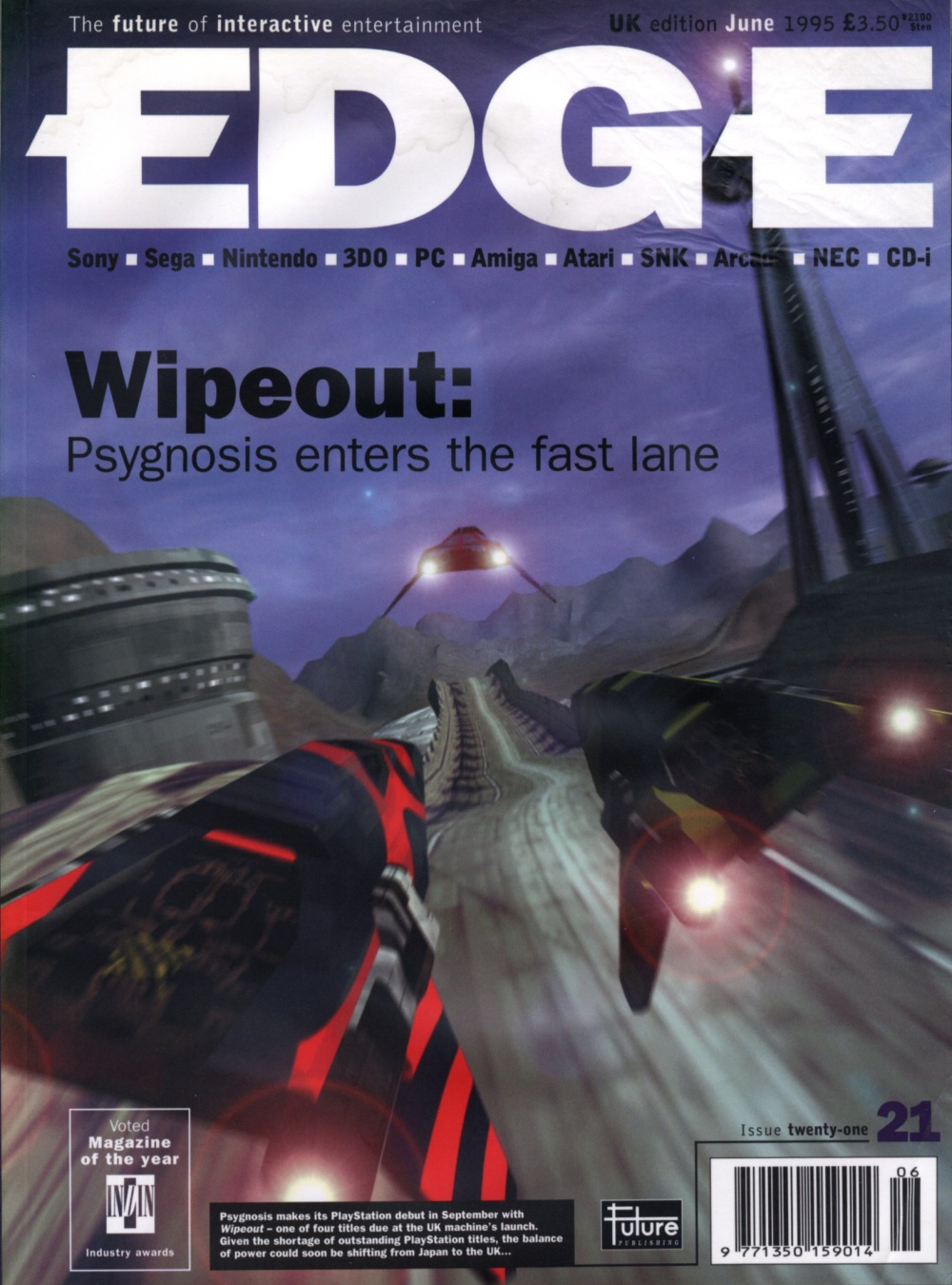 Scan of Document: Edge - Issue 21 - June 1995