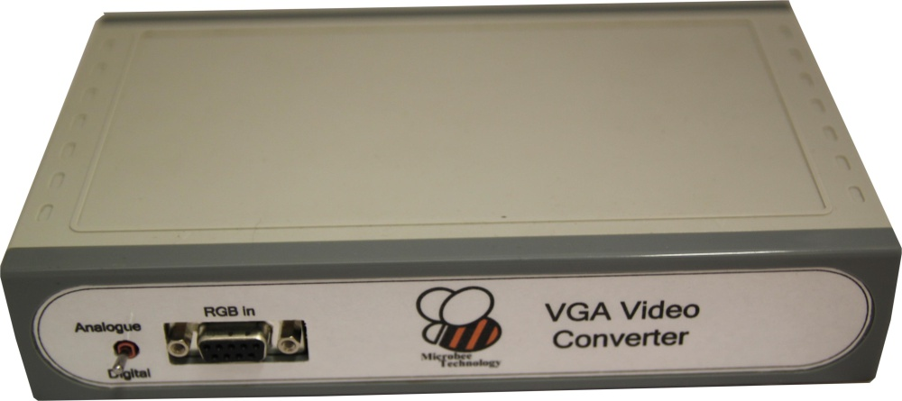 Scan of Document: Microbee VGA Video Converter