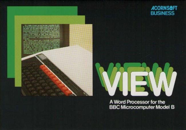 Scan of Document: Acornsoft Business BBC Micro View Word Processor