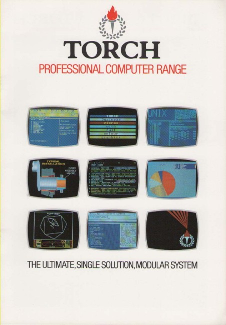 Scan of Document: Torch Professional Computer Range