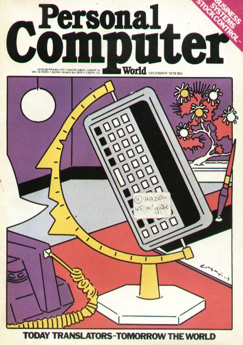 Scan of Document: Personal Computer World - December 1979