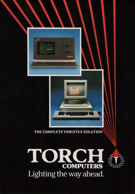 Scan of Document: Torch Computers - Videotex System