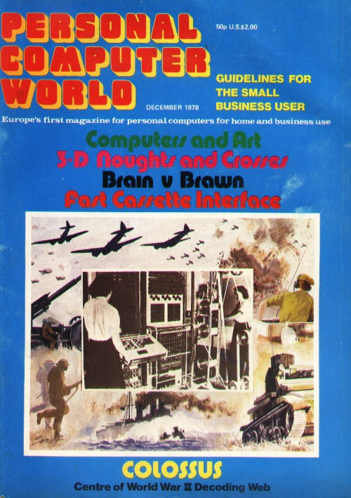 Scan of Document: Personal Computer World - December 1978