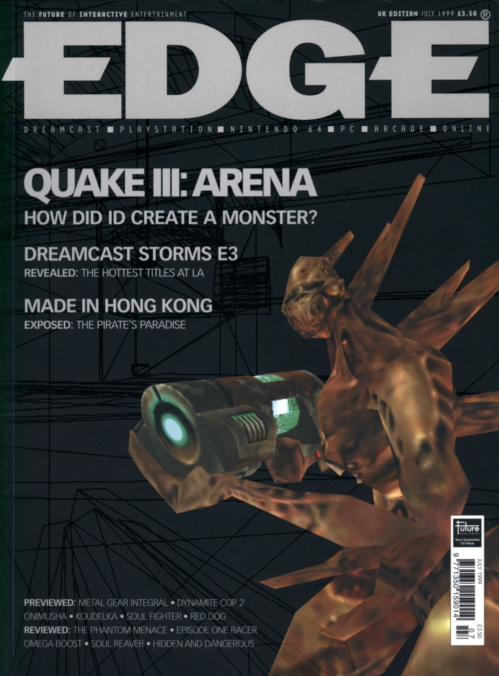 Scan of Document: Edge - Issue 73 - July 1999