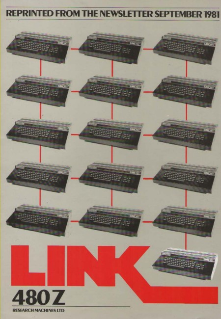 Scan of Document: Research Machines - Link 480Z