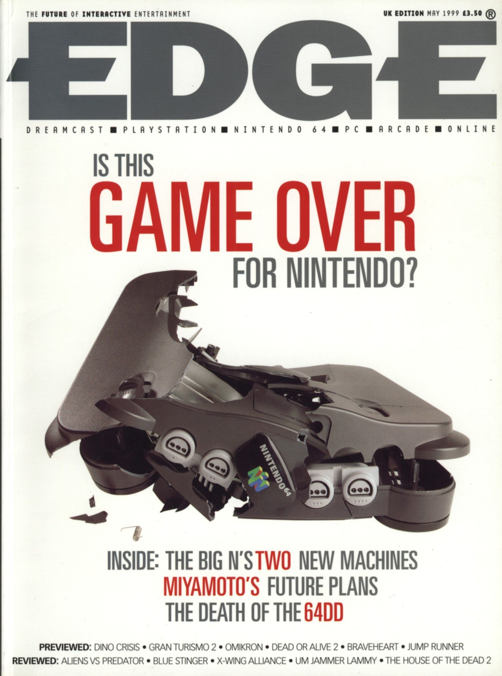 Scan of Document: Edge - Issue 71 - May 1999
